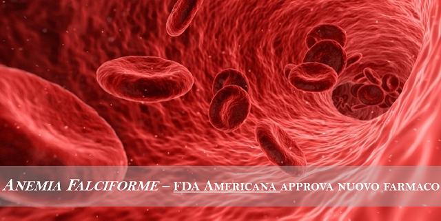 Anemia falciforme, nuovo farmaco approvato dopo 20 anni dalla FDA americana