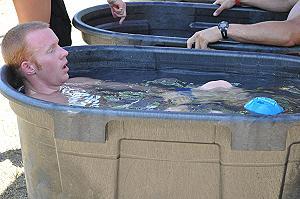 Inutili per i muscoli bagni in acqua gelida dopo allenamenti